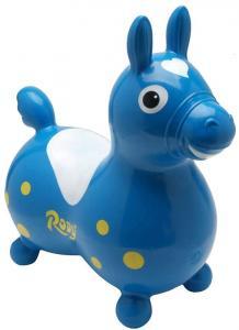 Cavallino gonfiabile Rody Blu